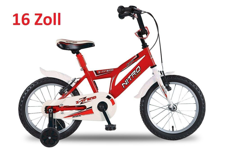 sommerangebot kinderfahrr der z trend 12 16 kinderrad fahrrad bike kaufen bei. Black Bedroom Furniture Sets. Home Design Ideas