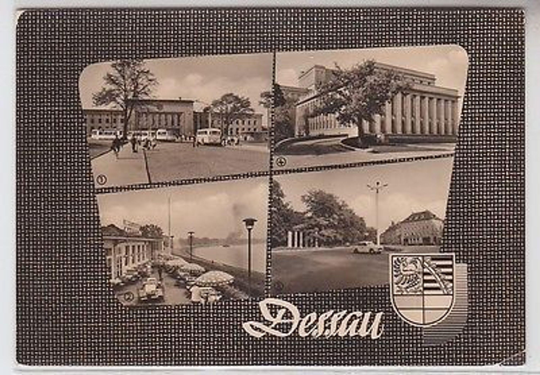 64684 mehrbild ak dessau bahnhof theater kornhaus an den 7 s ulen 1964 gebraucht kaufen bei. Black Bedroom Furniture Sets. Home Design Ideas