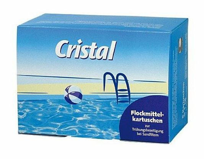 cristal flockmittelkartuschen 1 kg sandfilter flockmittel flockungsmittel pool kaufen bei. Black Bedroom Furniture Sets. Home Design Ideas