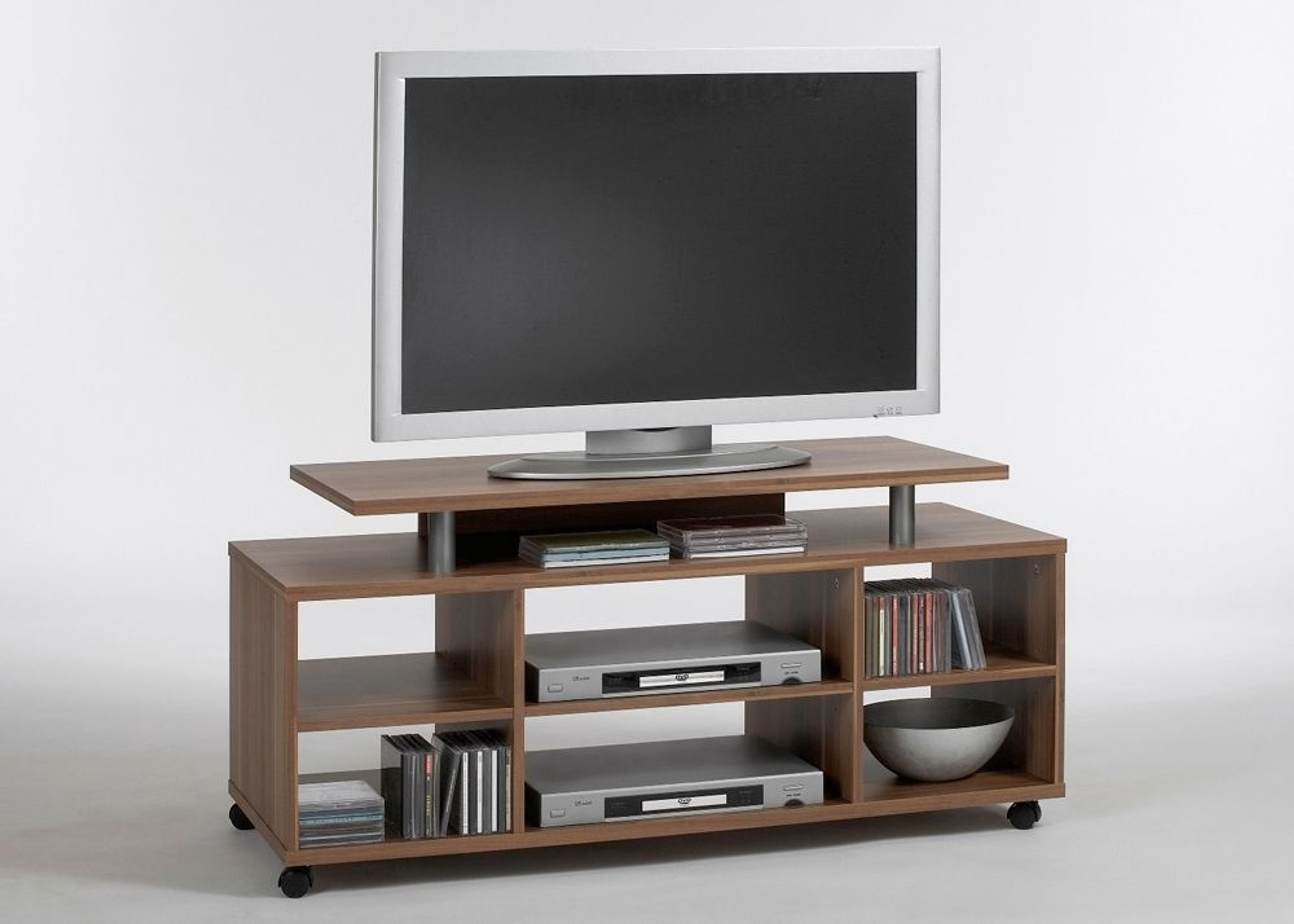tv schrank variant 21 lowboard auf rollen phonom bel zwetschge 8057 kaufen bei. Black Bedroom Furniture Sets. Home Design Ideas
