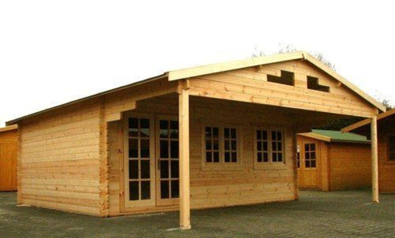 gartenhaus dresden blockhaus 600x500cm 250cm vordach. Black Bedroom Furniture Sets. Home Design Ideas