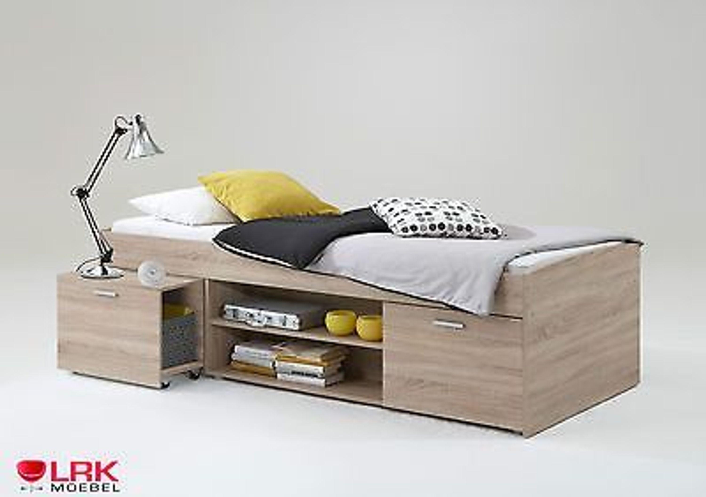 Einzelbett mit stauraum  Matratzenbreite 90 cm kaufen, Einzelbetten bei Hood.de