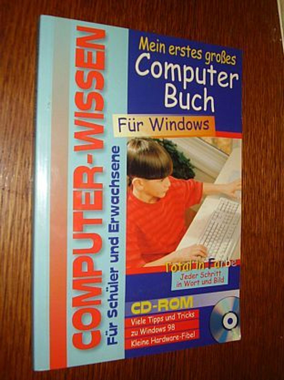 mein erstes gro es computer buch f r windows mit cd gebraucht kaufen bei ausstattung. Black Bedroom Furniture Sets. Home Design Ideas