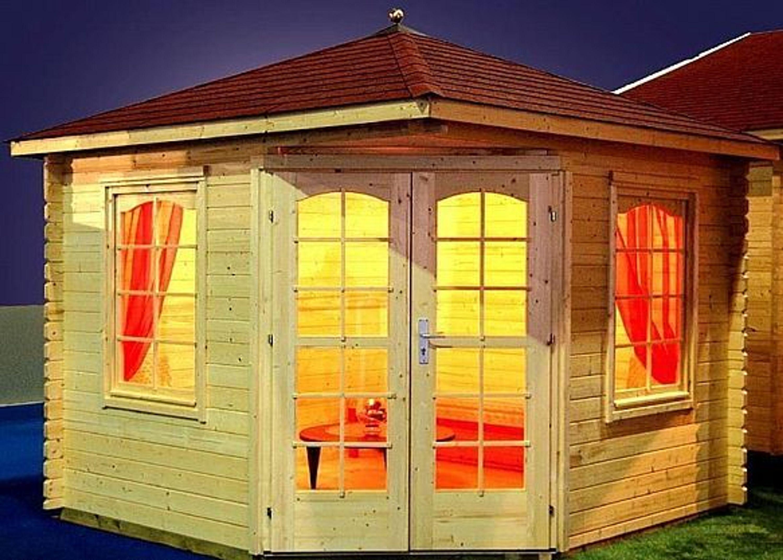 Gartenhaus Mit Fußboden Kaufen ~ Gartenhaus victoria b pavillon cm mm inkl