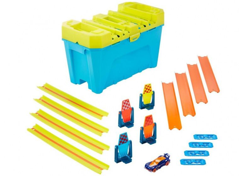 bahnbauer box jungen 36 cm gelb blau 19teilig kaufen bei
