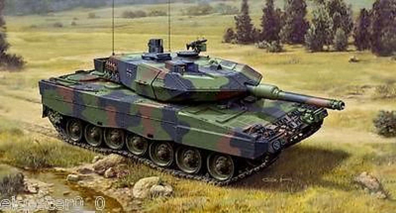 leopard 2 a5 a5 nl revell panzer modell bausatz 03187. Black Bedroom Furniture Sets. Home Design Ideas