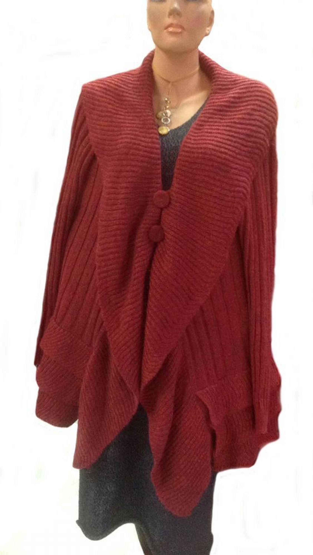 lange rote damen strickjacke peruanische alpakawolle kaufen bei farbrichtung rot. Black Bedroom Furniture Sets. Home Design Ideas