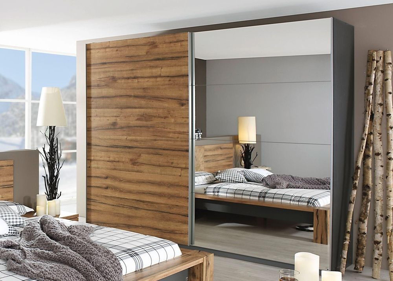schwebet renschrank davos kleiderschrank 270 0 wildeiche. Black Bedroom Furniture Sets. Home Design Ideas