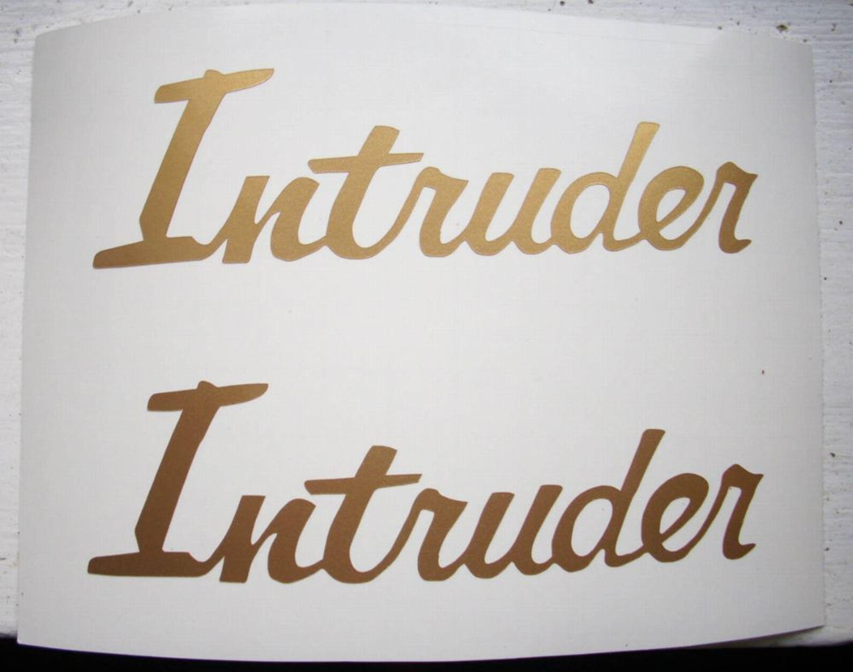2x Aufkleber Sticker Suzuki Intruder Schriftzug 0304 Kaufen Bei Hoodde