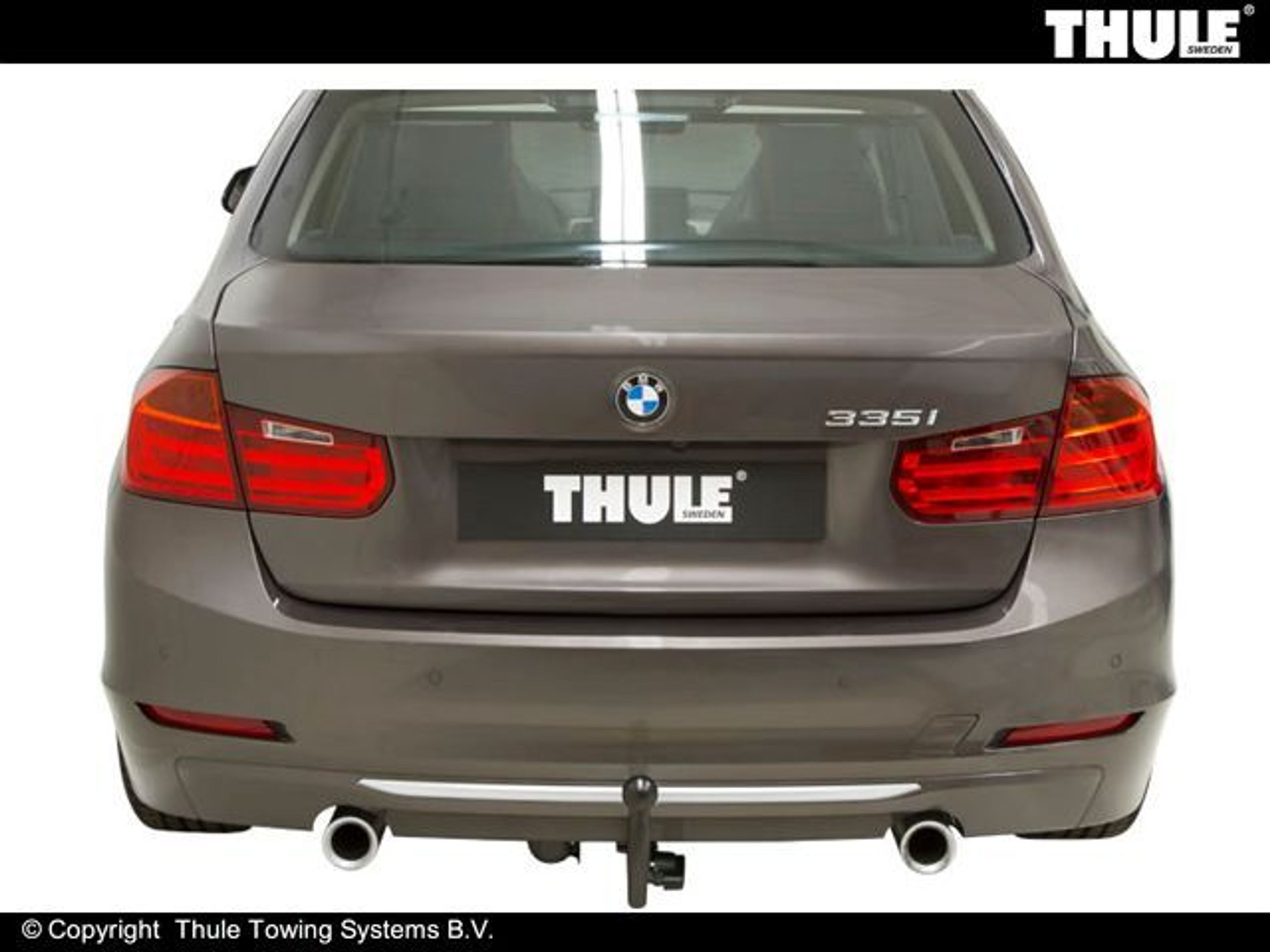 thule abnehmbare anh ngerkupplung bma 7 pol e satz bmw 3. Black Bedroom Furniture Sets. Home Design Ideas