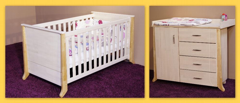 taube kinderzimmer babyzimmer willi bett u wickelkommode birke oder buche massiv kaufen bei. Black Bedroom Furniture Sets. Home Design Ideas