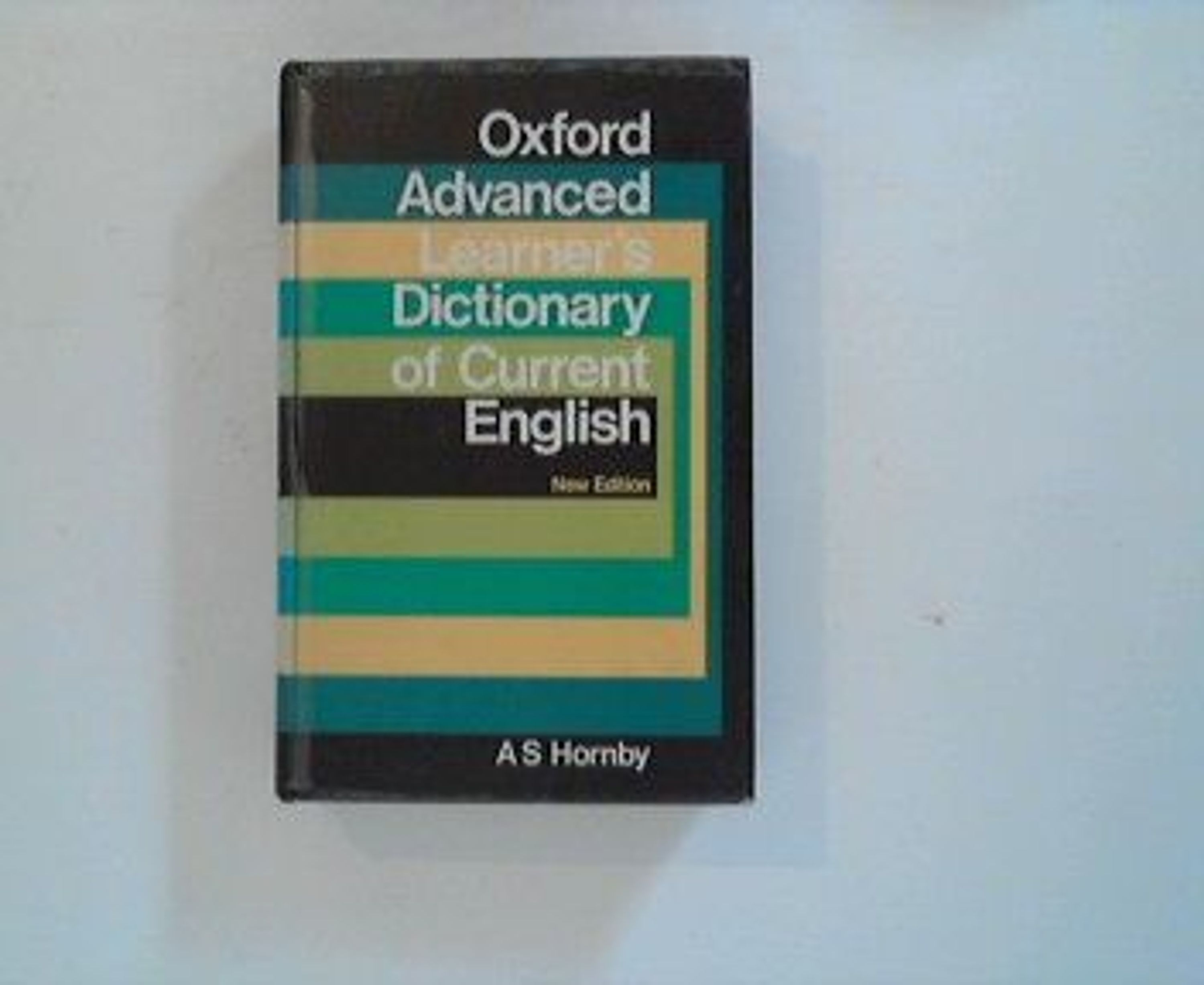 oxford advance learner english dictionary