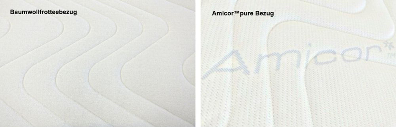 viskoelastische viscoelastische matratzenauflage 160 x. Black Bedroom Furniture Sets. Home Design Ideas