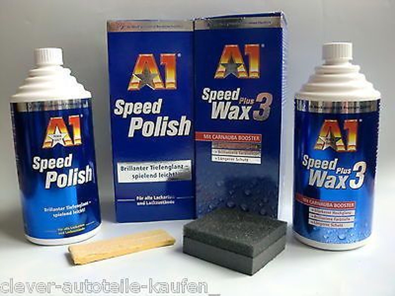 a12 a1 speed polish wax plus 3 a 500ml politur polisch. Black Bedroom Furniture Sets. Home Design Ideas