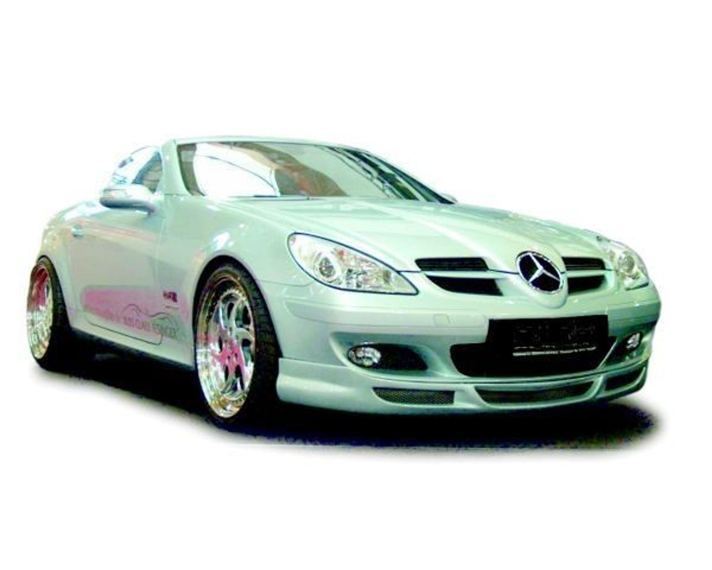 jms racelook frontspoilerlippe mercedes benz slk r171 275111 102 kaufen bei. Black Bedroom Furniture Sets. Home Design Ideas