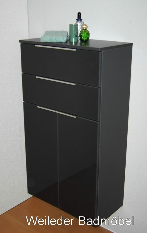 fackelmann badm bel kara midischrank 2 t ren glasfront 2 farben bad schrank 60 kaufen bei. Black Bedroom Furniture Sets. Home Design Ideas