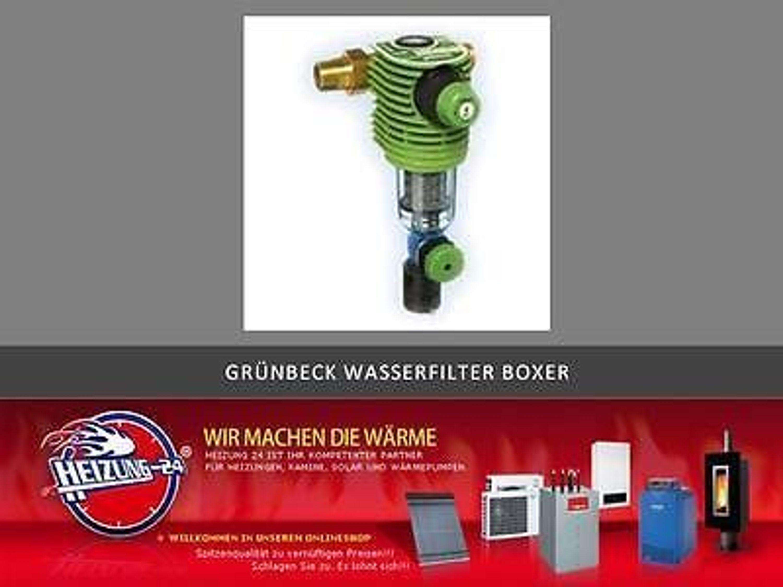 Grünbeck Boxer Rd Rückspülfilter Mit Druckminderer Dn 25 1 Wasserfilter 101360