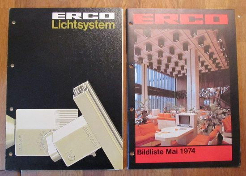 erco leuchten lichtsystem 2 kataloge und preisliste beleuchtung 34072 kaufen bei. Black Bedroom Furniture Sets. Home Design Ideas