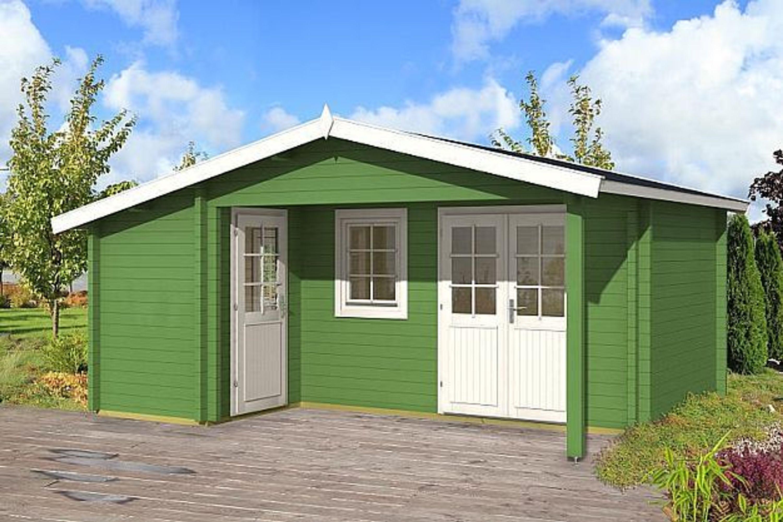 gartenhaus helsinki i 70 blockhaus holzhaus 530 x 445 cm 70 mm ferienhaus kaufen bei. Black Bedroom Furniture Sets. Home Design Ideas