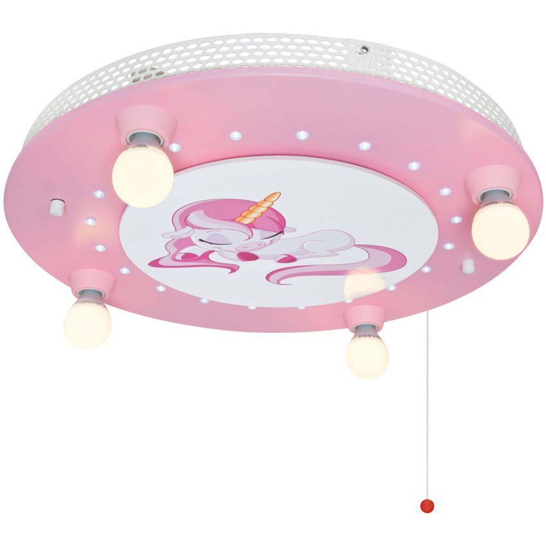 led kinderlampe einhorn kinder lampe holz rosa kaufen bei. Black Bedroom Furniture Sets. Home Design Ideas