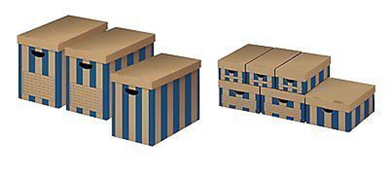 9x aufbewahrungsbox karton pappe mit deckel kiste schachtel joly kaufen bei. Black Bedroom Furniture Sets. Home Design Ideas