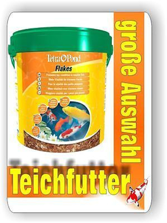 Tetra pond flakes 10 liter hauptfutter in flockenform f r for Suche teichfische