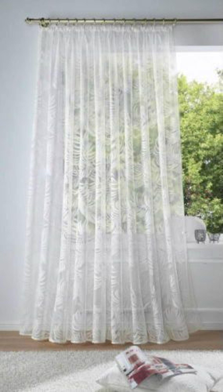 lang store weiss gardine vorhang h he 175cm breite 600cm kaufen bei. Black Bedroom Furniture Sets. Home Design Ideas