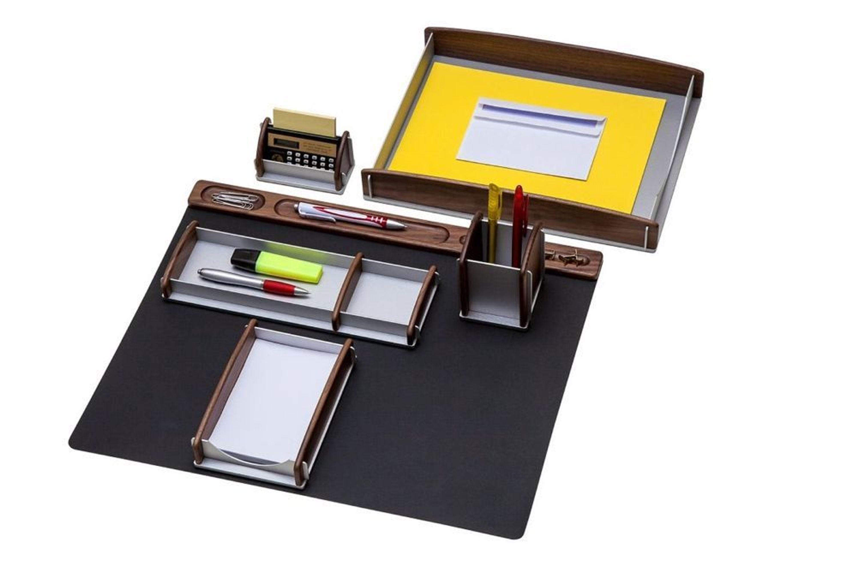 Schreibtisch set aus echtholz rumold kaufen bei for Schreibtisch aus echtholz