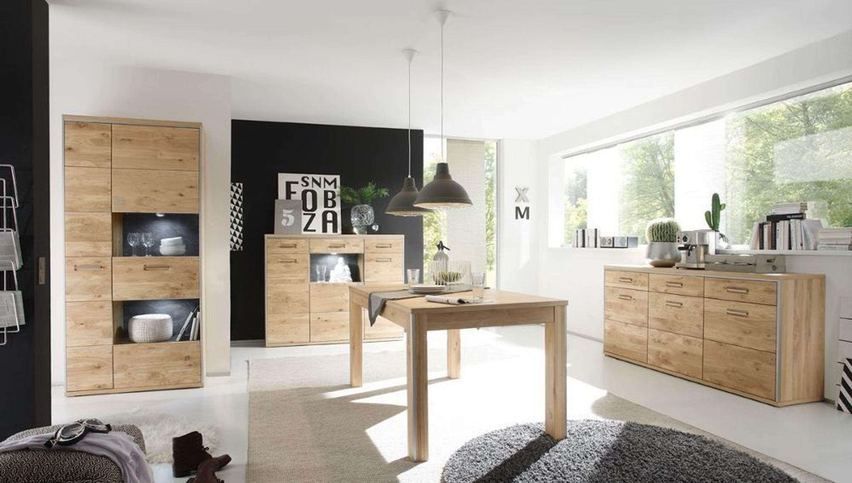 esszimmer komplett espero esszimmerm bel holz massiv asteiche 9176 kaufen bei. Black Bedroom Furniture Sets. Home Design Ideas