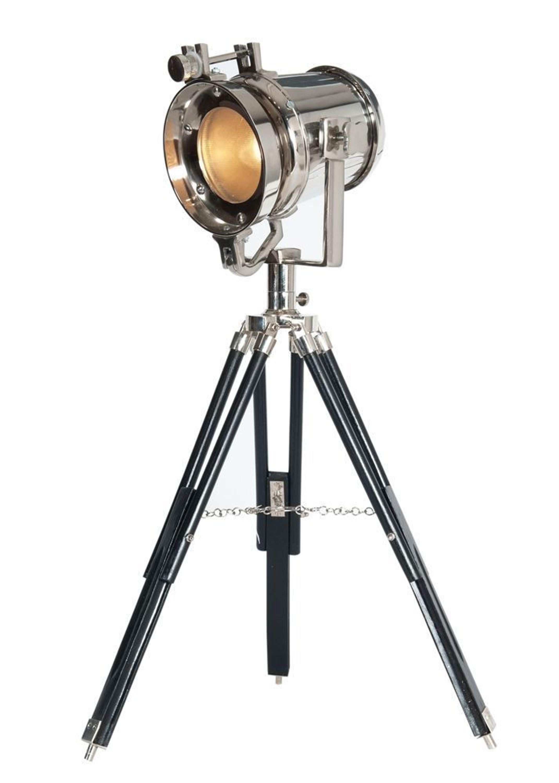stehleuchte waterford studiolampe vernickelt retro design 9469 kaufen bei. Black Bedroom Furniture Sets. Home Design Ideas