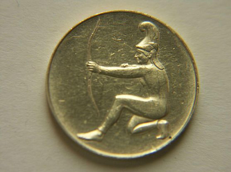 Olympische Spiele München 1972 Medaille Gold 900 Bogenschießen