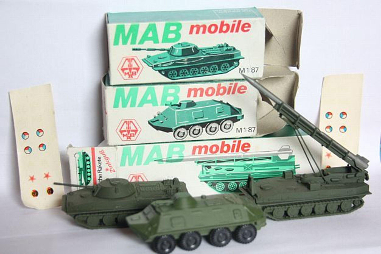 Ddr Nva Modellautos Milit R Panzer H0 1 87 Mab