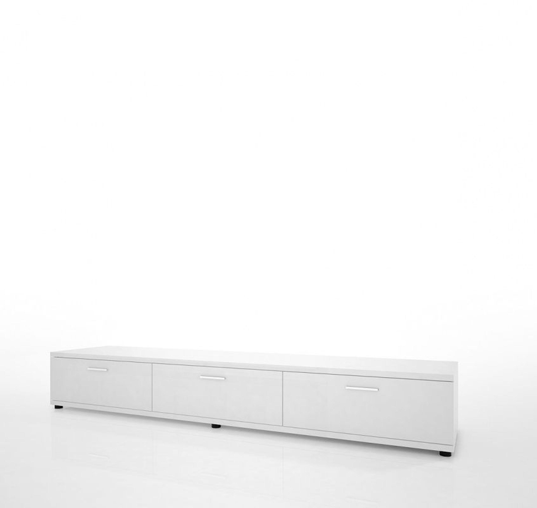 cora tv lowboard mit schubladen wei hochglanz kaufen bei. Black Bedroom Furniture Sets. Home Design Ideas