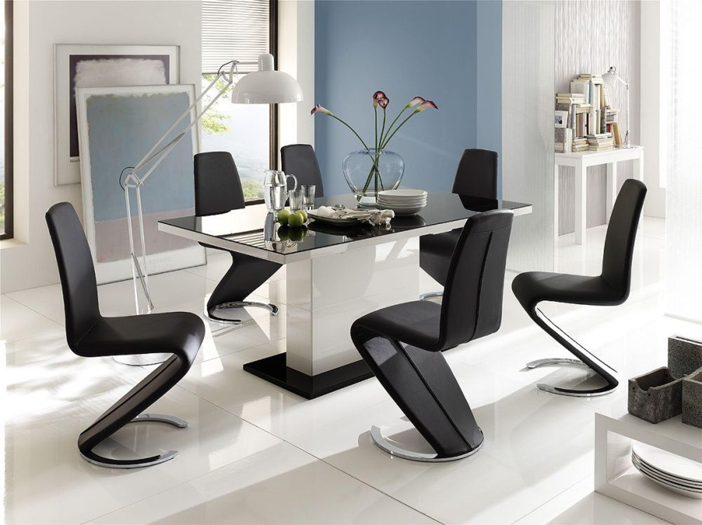 cora h ngevitrine hochglanz wei mit 1 2 t ren kaufen bei. Black Bedroom Furniture Sets. Home Design Ideas