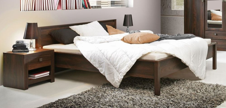 schlafzimmer bett roberta 180x200 cm in eiche durance kaufen bei. Black Bedroom Furniture Sets. Home Design Ideas