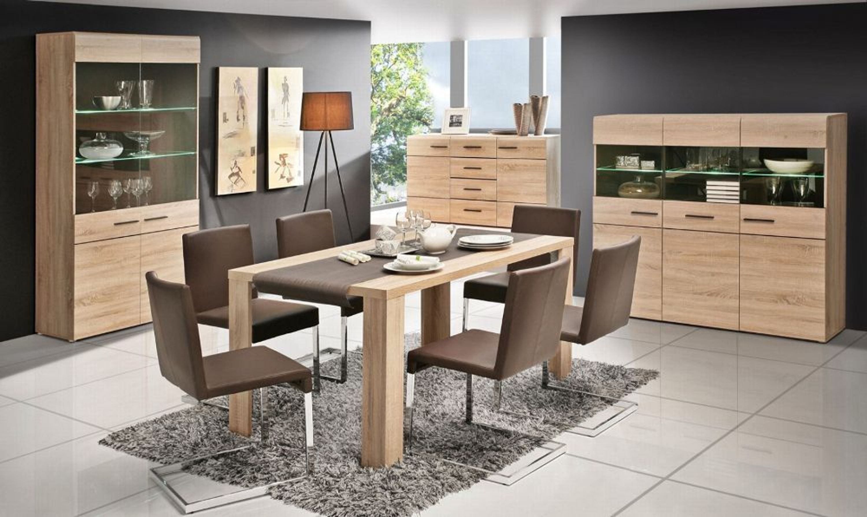 esstisch sarah 180x90 cm in sonoma eiche kaufen bei. Black Bedroom Furniture Sets. Home Design Ideas