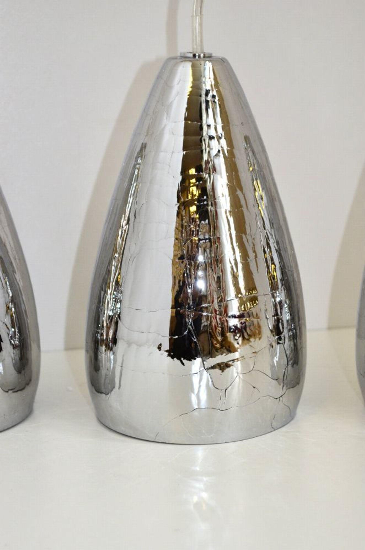 impressionen pendelleuchte silber 5 flammig deckenleuchte lampe kaufen bei. Black Bedroom Furniture Sets. Home Design Ideas