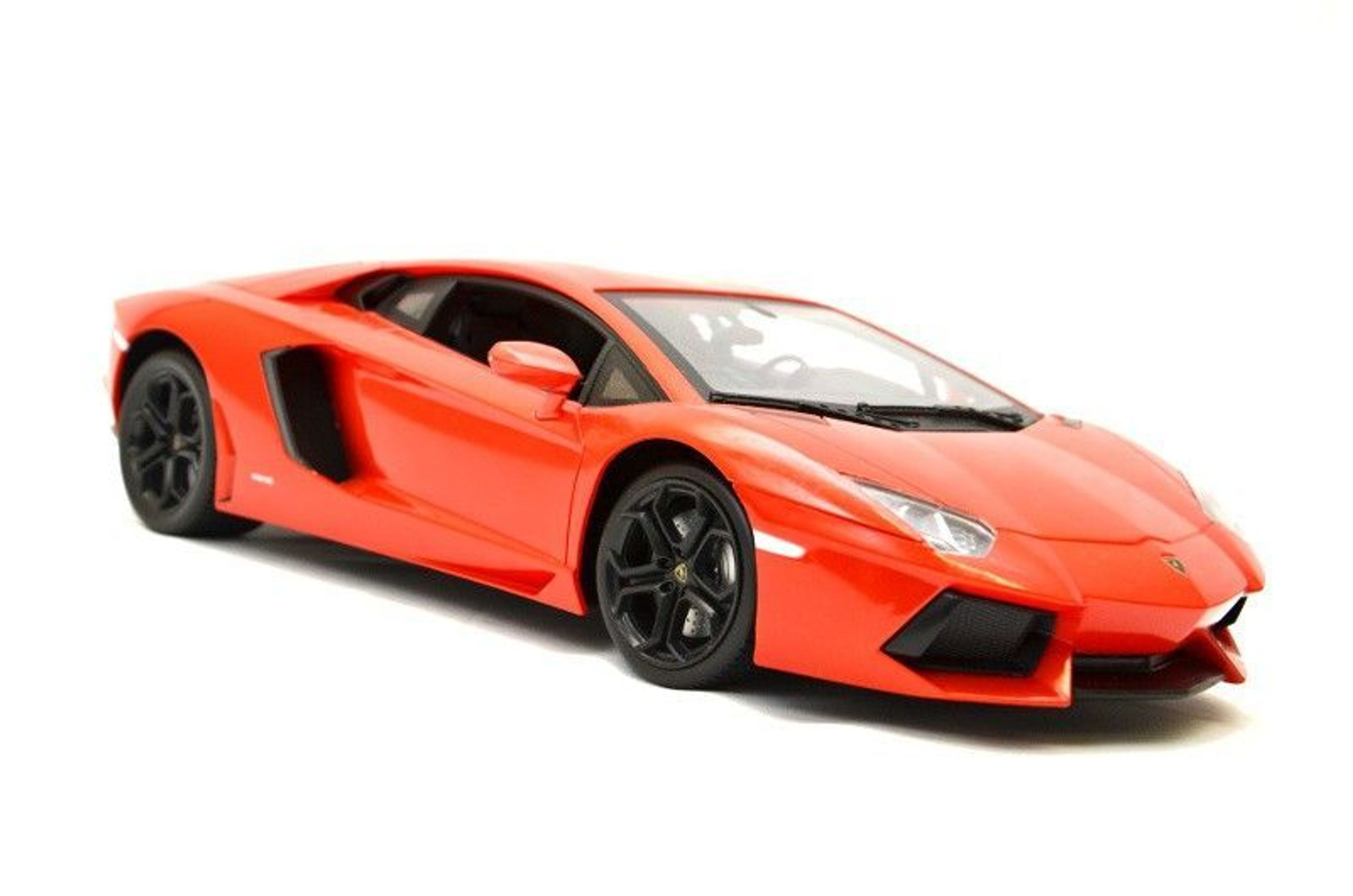 rc auto lamborghini aventador mit lizenz 1 14 orange. Black Bedroom Furniture Sets. Home Design Ideas
