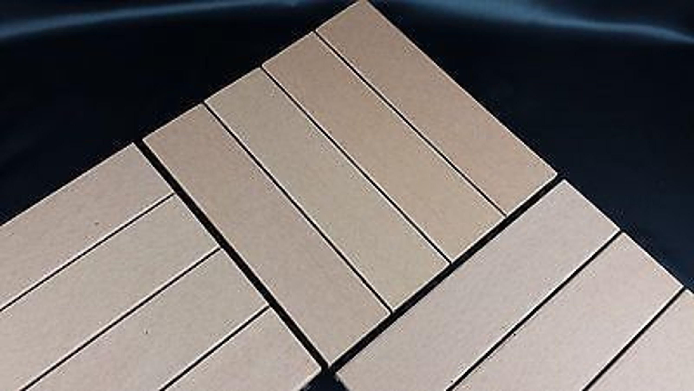 wpc holzfliesen mit klicksystem garten balkon terrasse 30 x 30 cm glatt kaufen bei. Black Bedroom Furniture Sets. Home Design Ideas