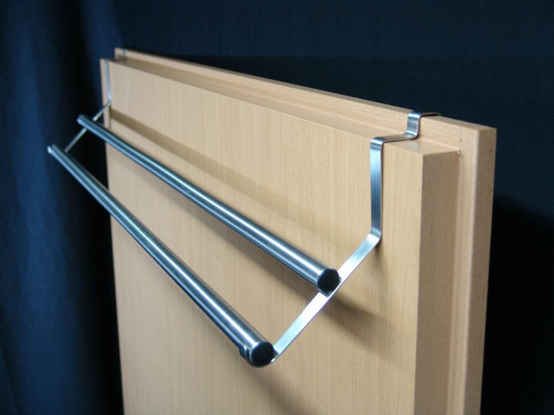 nirotec edelstahldesign edelstahl t r handtuchhalter 65 2 kaufen bei. Black Bedroom Furniture Sets. Home Design Ideas