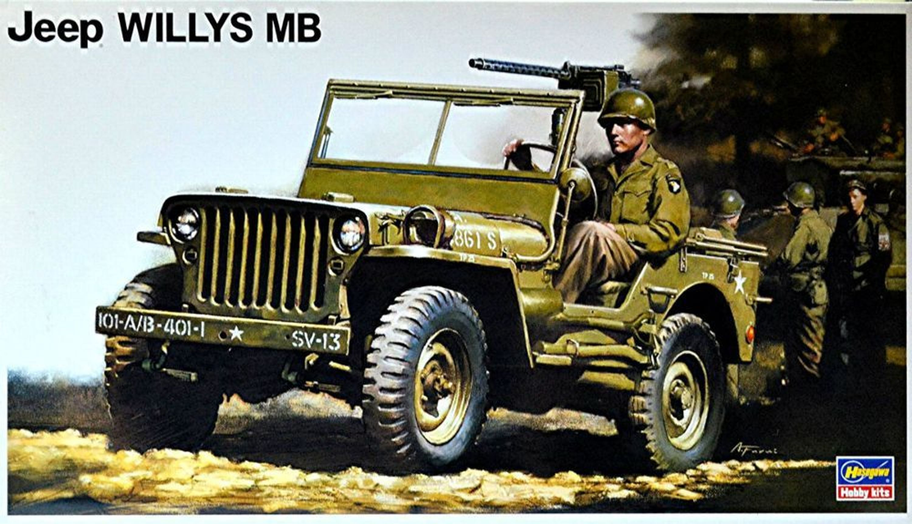 jeep willys mb 1942 45 gel ndewagen 1 24 bausatz kit. Black Bedroom Furniture Sets. Home Design Ideas