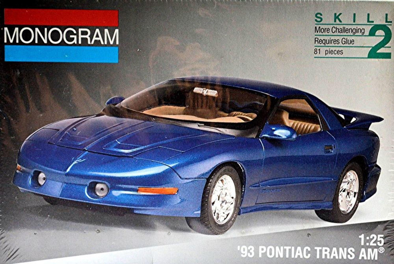 pontiac trans am 93 firebird coupe 1993 98 1 25 bausatz. Black Bedroom Furniture Sets. Home Design Ideas