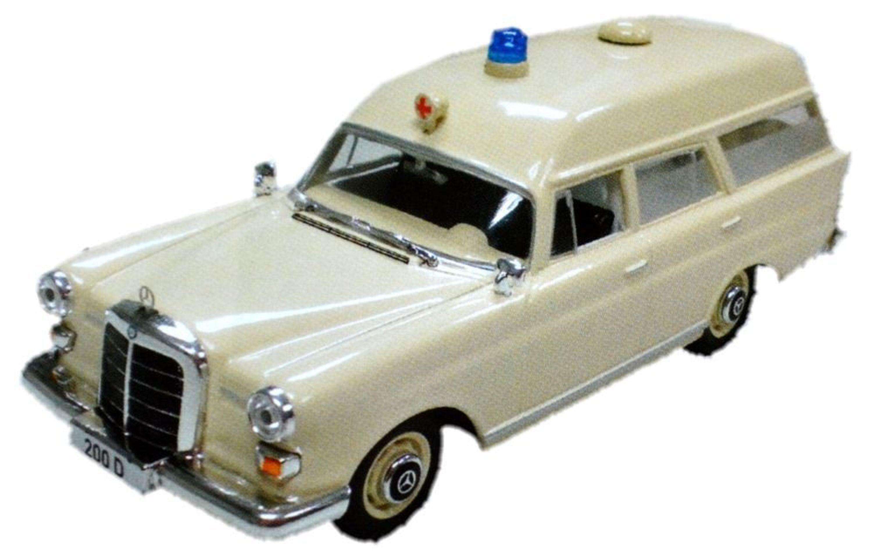 Mercedes Benz  D Binz  Krankenwagen Ixo