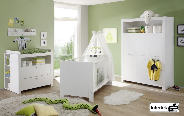 Babyzimmer kinderzimmer wei komplett set neu olivia 3 for Kinderzimmer komplett kleinkind