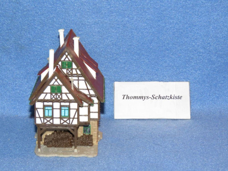Vollmer haus mit holz fachwerkhaus spur n 1 160 for Holz fachwerkhaus