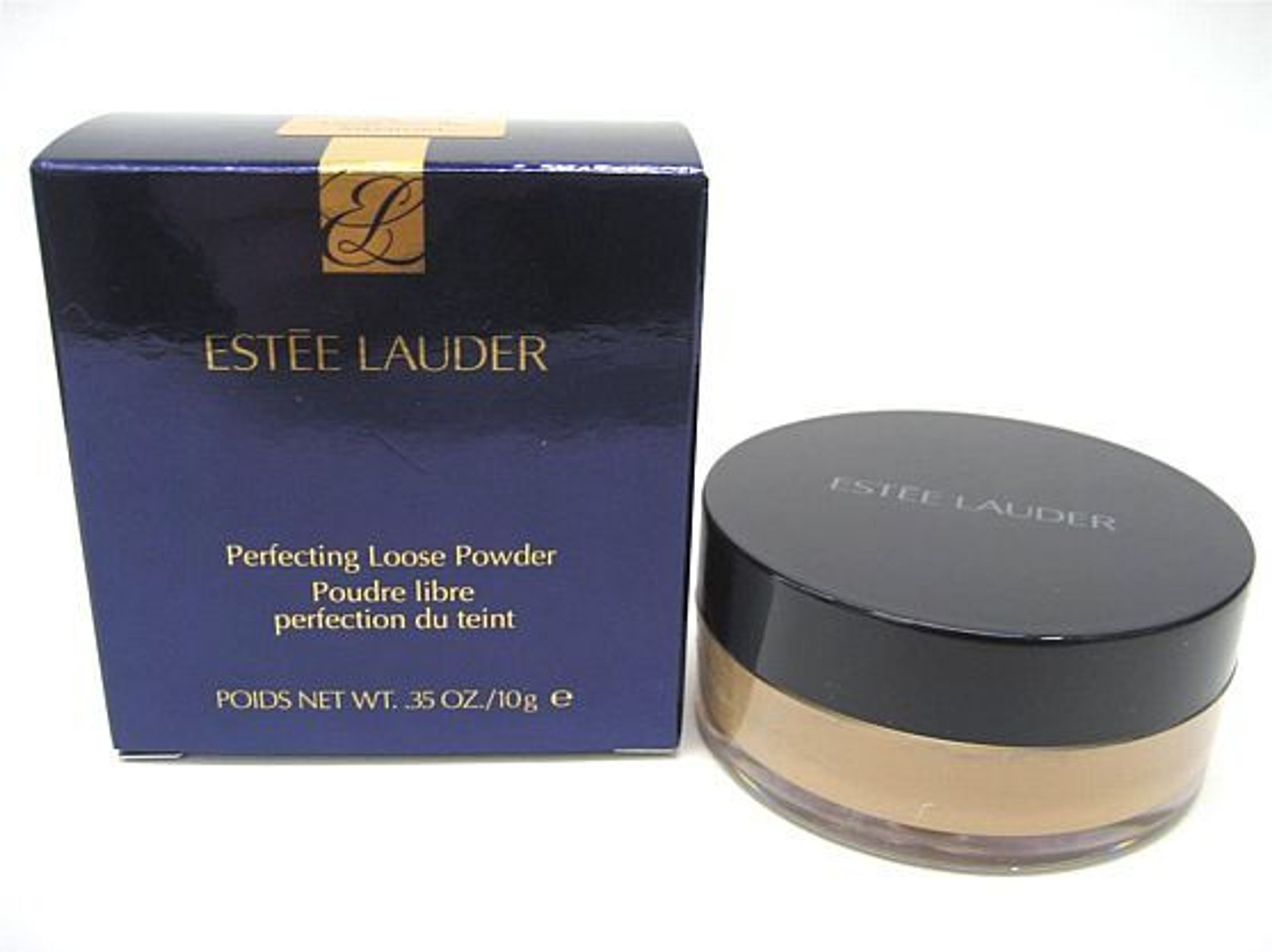estee lauder perfecting loose powder nr 03 medium 10 g neu ovp puder kaufen bei. Black Bedroom Furniture Sets. Home Design Ideas