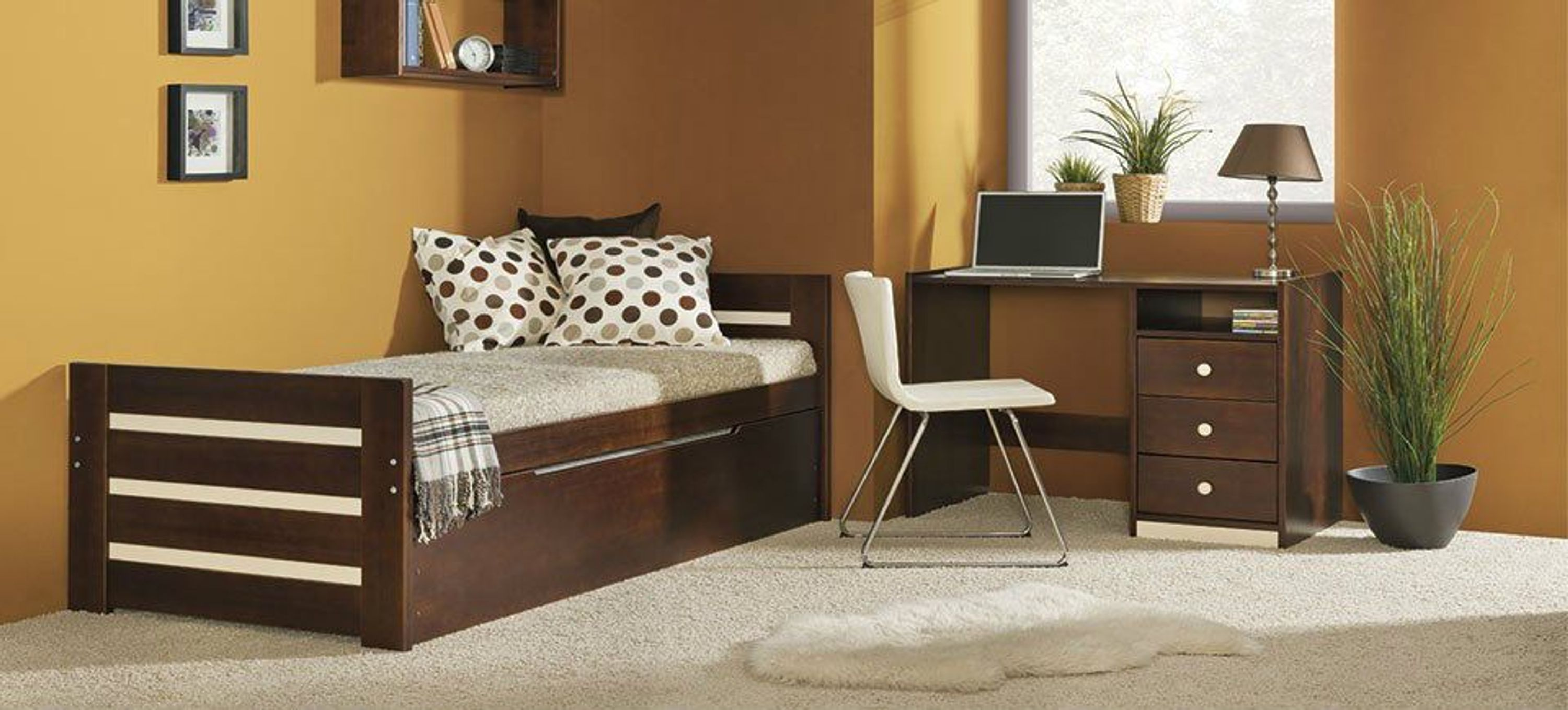 doppelbett aus kieferholz modell diego inkl lattenrost massivholz mit 2 matratzen kaufen bei. Black Bedroom Furniture Sets. Home Design Ideas