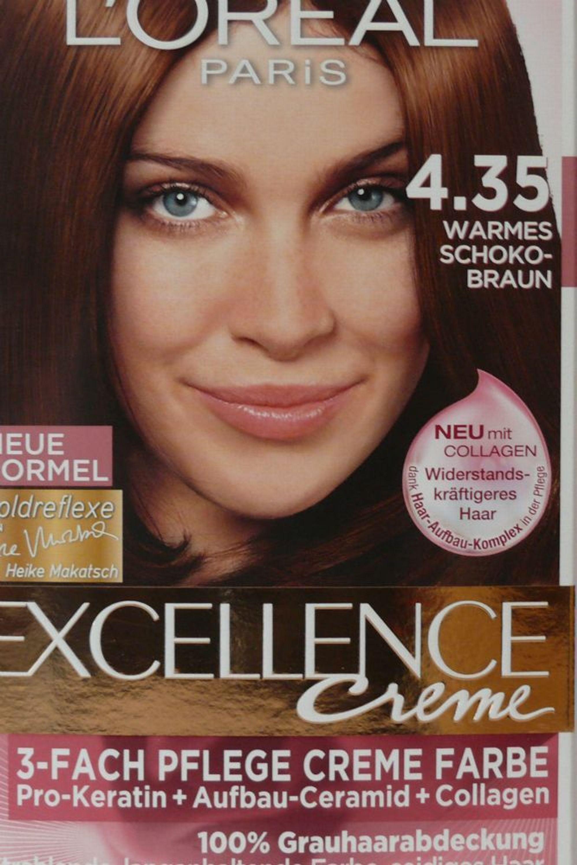 loreal preference warmes schoko braun 4 35 haarfarbe mit collagen und pro keratin kaufen bei. Black Bedroom Furniture Sets. Home Design Ideas