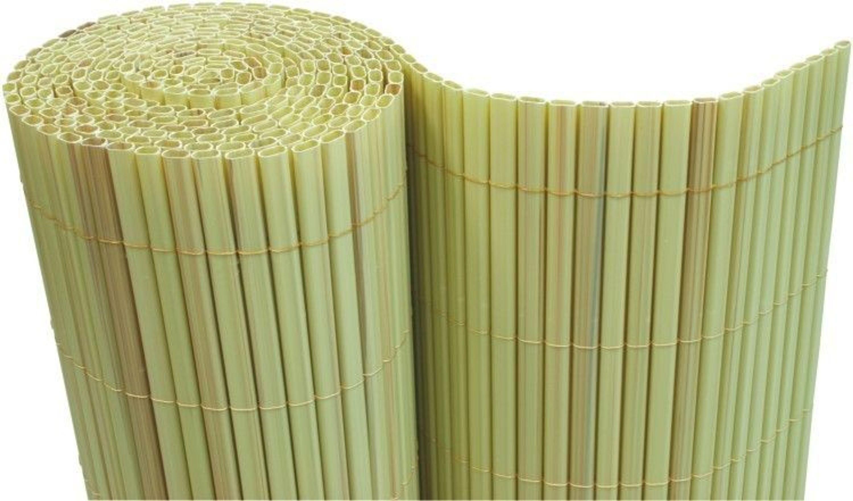 pvc sichtschutzmatte balkon sichtschutz 180x500 cm windschutz bambus kaufen bei. Black Bedroom Furniture Sets. Home Design Ideas