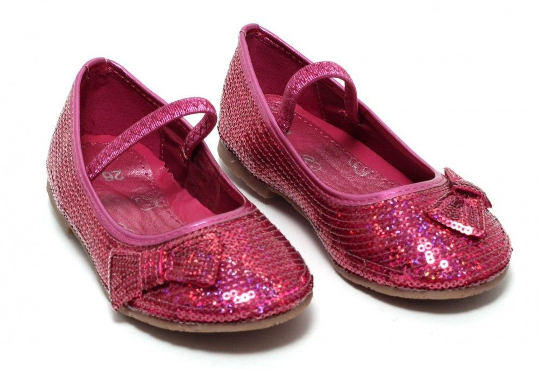 m dchen ballerina festtagsschuhe gr 27 glitzer schuhe sommerschuhe slipper pink kaufen bei. Black Bedroom Furniture Sets. Home Design Ideas